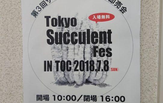 Tokyo Succulent Fes Vol.3