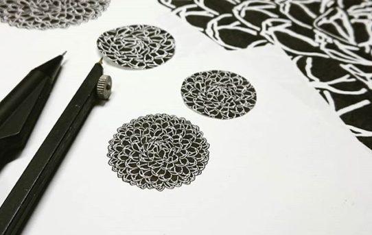 笹の雪イラスト